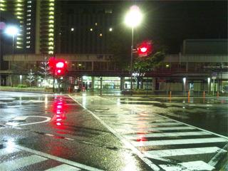 大津駅に到着しました