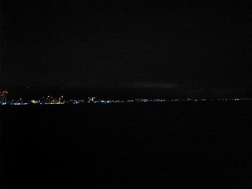 なんにも見えないけど、琵琶湖