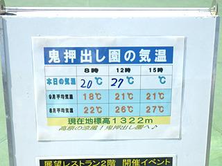 降りたときちょっと涼しいかと思ったが、今日はやっぱり暑いようだ。