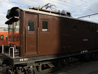 こちらも上信電鉄の電気機関車、ED31