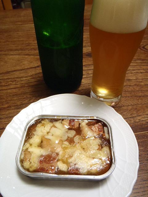 これがビールによく合うのです。ドイツ人もビックリだ。