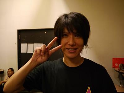プロデューサーの池田さん。この若さでアイドル事務所の社長である。