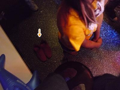 誰だ、おれの靴そろえてくれたの。