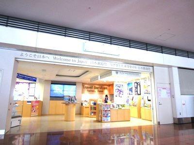 カフェに併設されているのは観光情報センター。