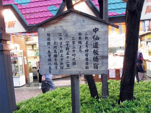 旧中山道板橋宿