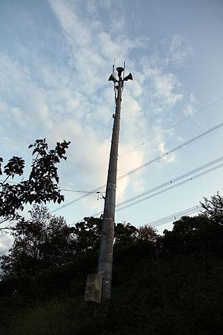 江戸川区の防災無線の電柱は江戸川区の物。こういうのもある。