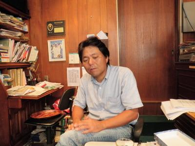 杉山さん。杉山金庫の三代目でもある