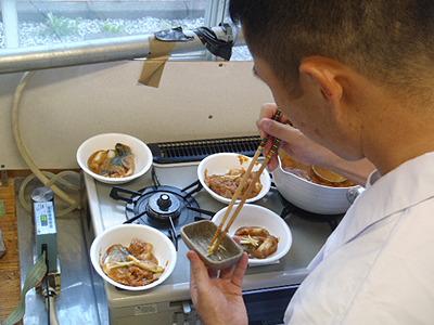 しかし、大体同じような感じでサバの味噌煮が出来ました。システムがリカバリーしてくれたのだろうか?