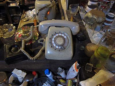 ダイヤル式電話とか