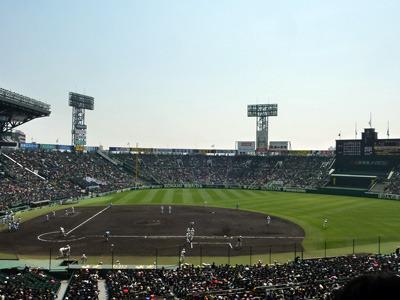 数々の名勝負を生んだ高校野球の聖地、甲子園球場(富澤豊さん提供)
