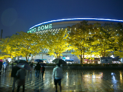 (ほぼ)初めてのプロ野球観戦と東京ドーム