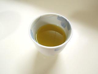 緑茶が合う