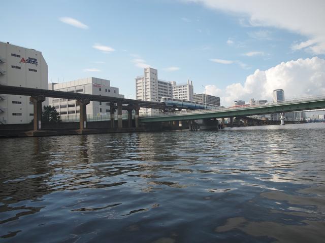 京浜運河クルーズへ