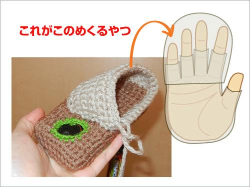 これがこの4本の指にかぶせるあれになる。