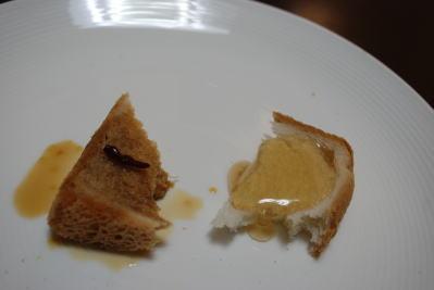 激甘と激辛を食パンにかけて