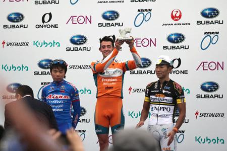 2位と3位は日本人選手が僅差で入った