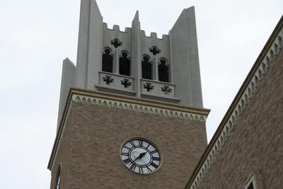 時計台は125尺(約37.9メートル)あるらしい