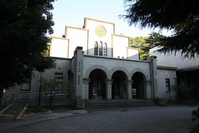 こちらは1号館の東、昭和10年の駒場博物館