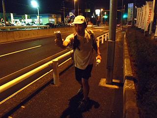 DPZ大学、2区走者馬場選手戸塚中継所にトップで現れました!