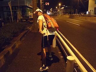 DPZ大学、3区走者馬場選手にビールバトンが渡ります!
