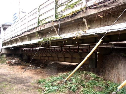 これは! 明らかに川に架かっていた鉄橋だ!