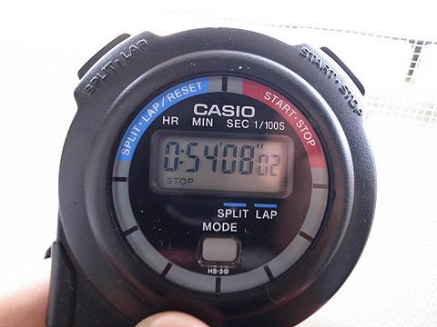 時間を計る、を毎日繰り返します