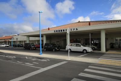 離島への拠点、石垣港の離島ターミナル