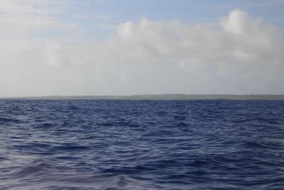 石垣島から一時間程で波照間島に到着