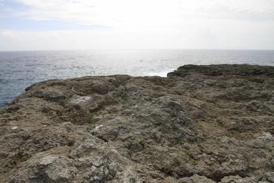 はい、これが最南端の島の、最南端