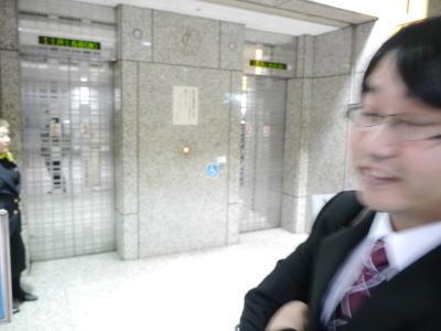 そしてエレベーターへ