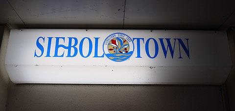 シーボルタウン。