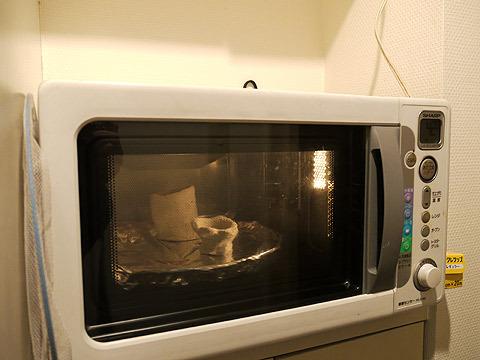 オーブンで1時間ほど焼く
