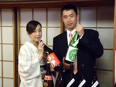 ほろ酔い加減で福山さんと記念撮影。楽しい会、ありがとうございました!