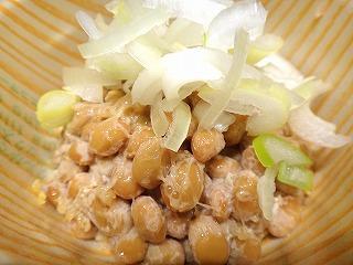 よく見ると粒がわかる、きび納豆
