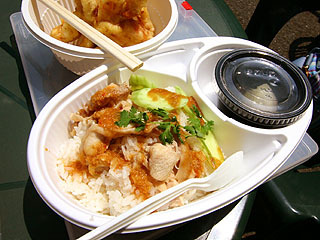 突然タイフェスコーナー2。タイフェスで食べたカオマンガイ美味かったなぁ。