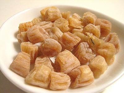 ヒオウギ貝の貝柱</a>。味はホタテにそっくり