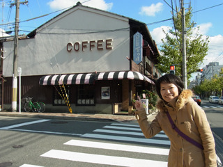工藤さんお薦め喫茶「チロル」。