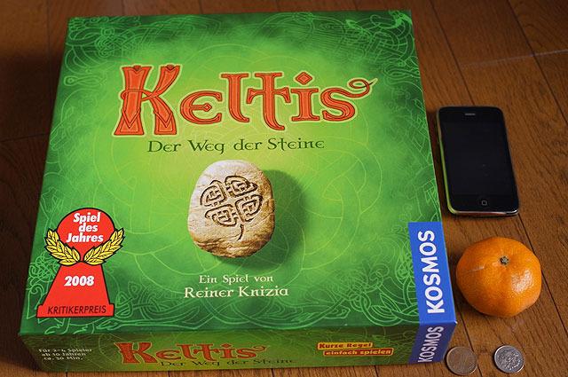 「ケルト」 (2008年ドイツ年間ゲーム大賞、2008年ドイツゲーム大賞受賞)