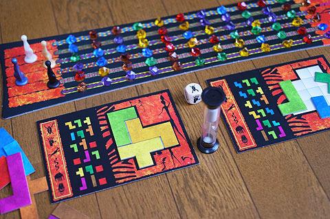 ゲーム自体は純粋なパズル。