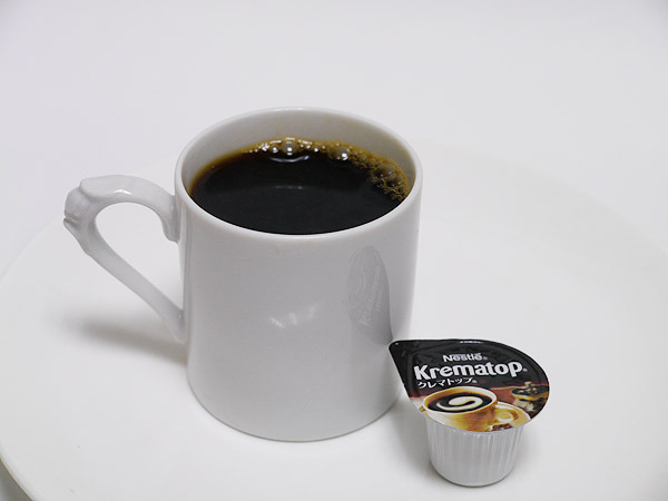 普通のコーヒー