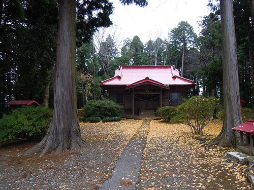 完璧なひっそり神社である