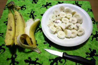 熟したバナナでフルーチェが作れるらしい