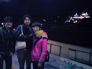 ラジオでも西鎌倉からお届けしました。この3人で。