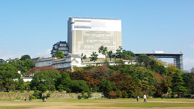 現在の姫路城。あの箱の中身を見てきました。