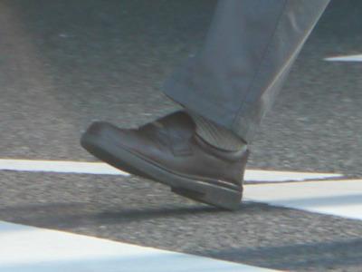 おっちゃん靴といえば歩きやすそうな革靴