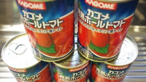 万能食材、ホールトマト缶
