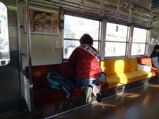 子どもみたいに電車に乗ったり