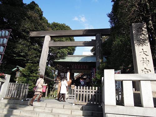 女子率は今戸神社よりも高かった