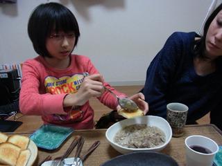 撮影を手伝ってくれた友人親子にも食べてもらい感想を聞こう。