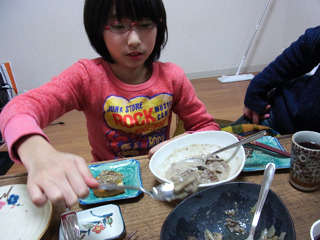 子供はこっちの方が好き!とCさんレシピに一票。